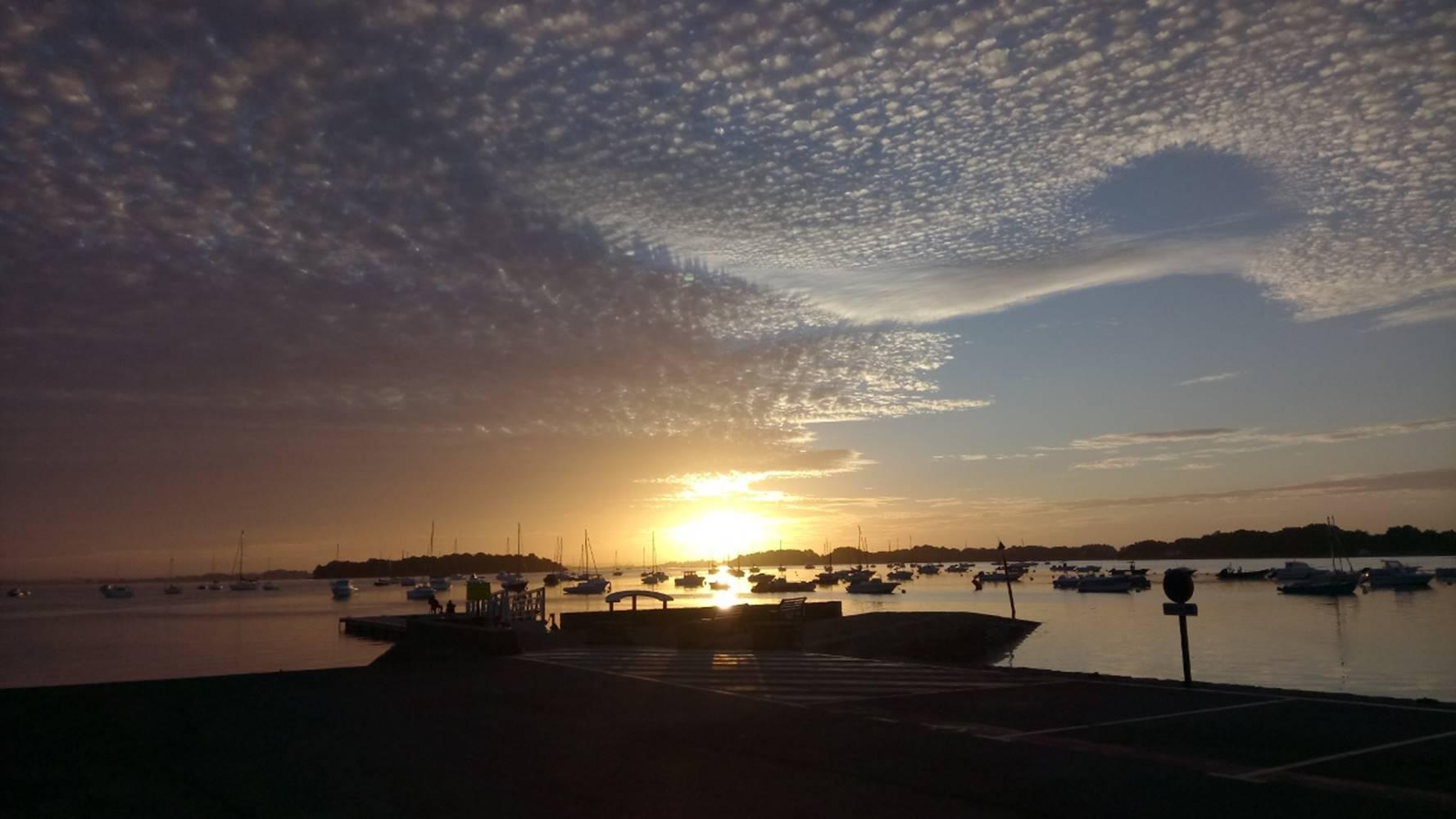 Guide de pêche en mer, Golfe du Morbihan, pêche au bar en bretagne, Sortie pêche en bateau à Sarzeau, Presqu'îles de Rhuys, pêche au bar avec un moniteur, guide de pêche professionnel © Mickaël Rio