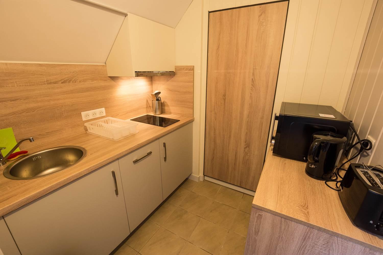 Appartement Désirade - kitchenette ©