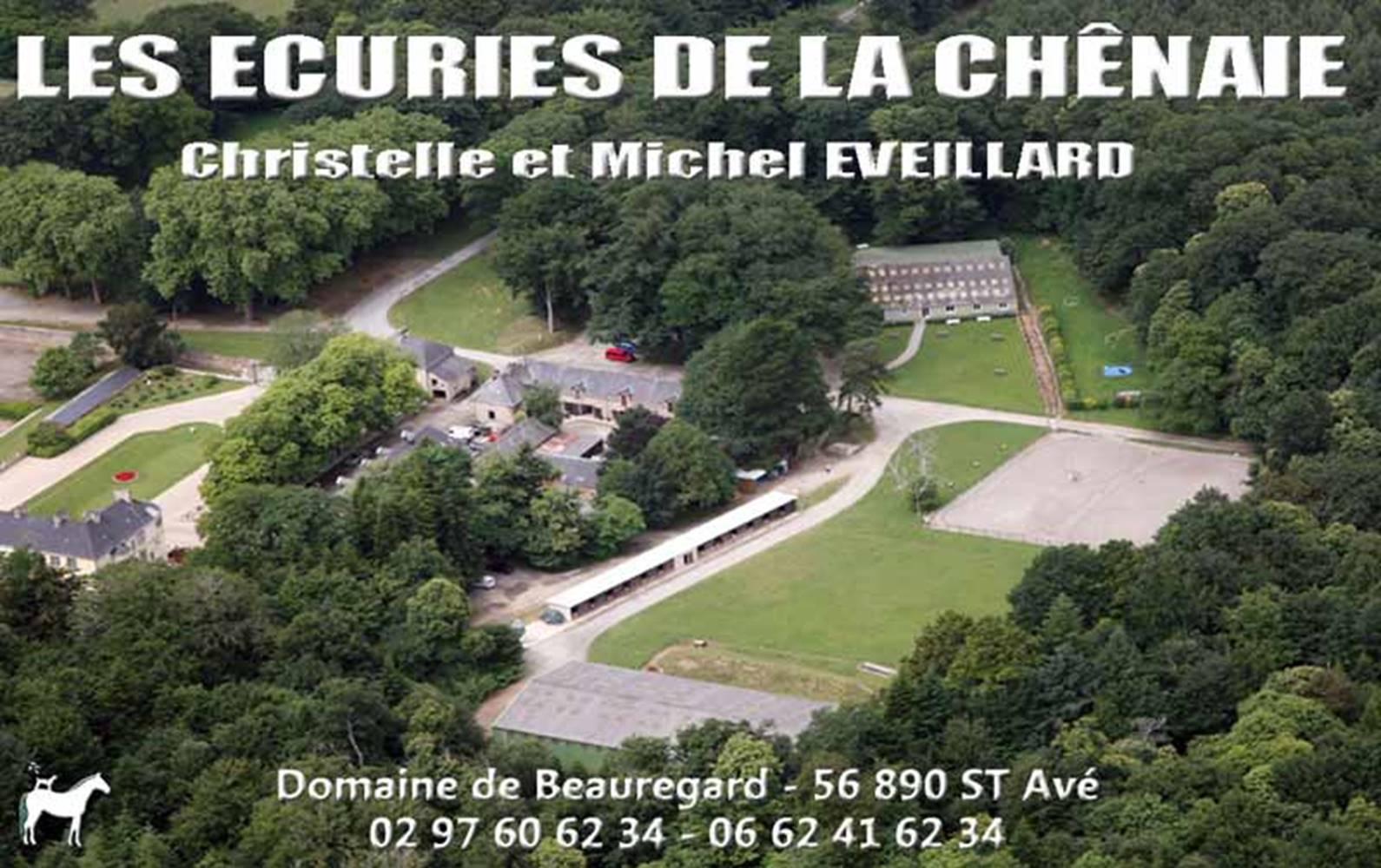 Centre équestre Les Ecuries de la Chênaie-stave-morbihan-bretagne-sud ©