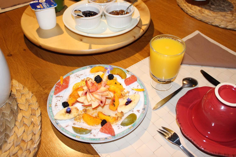Fraicheur du petit déjeuner selon les saisons ©