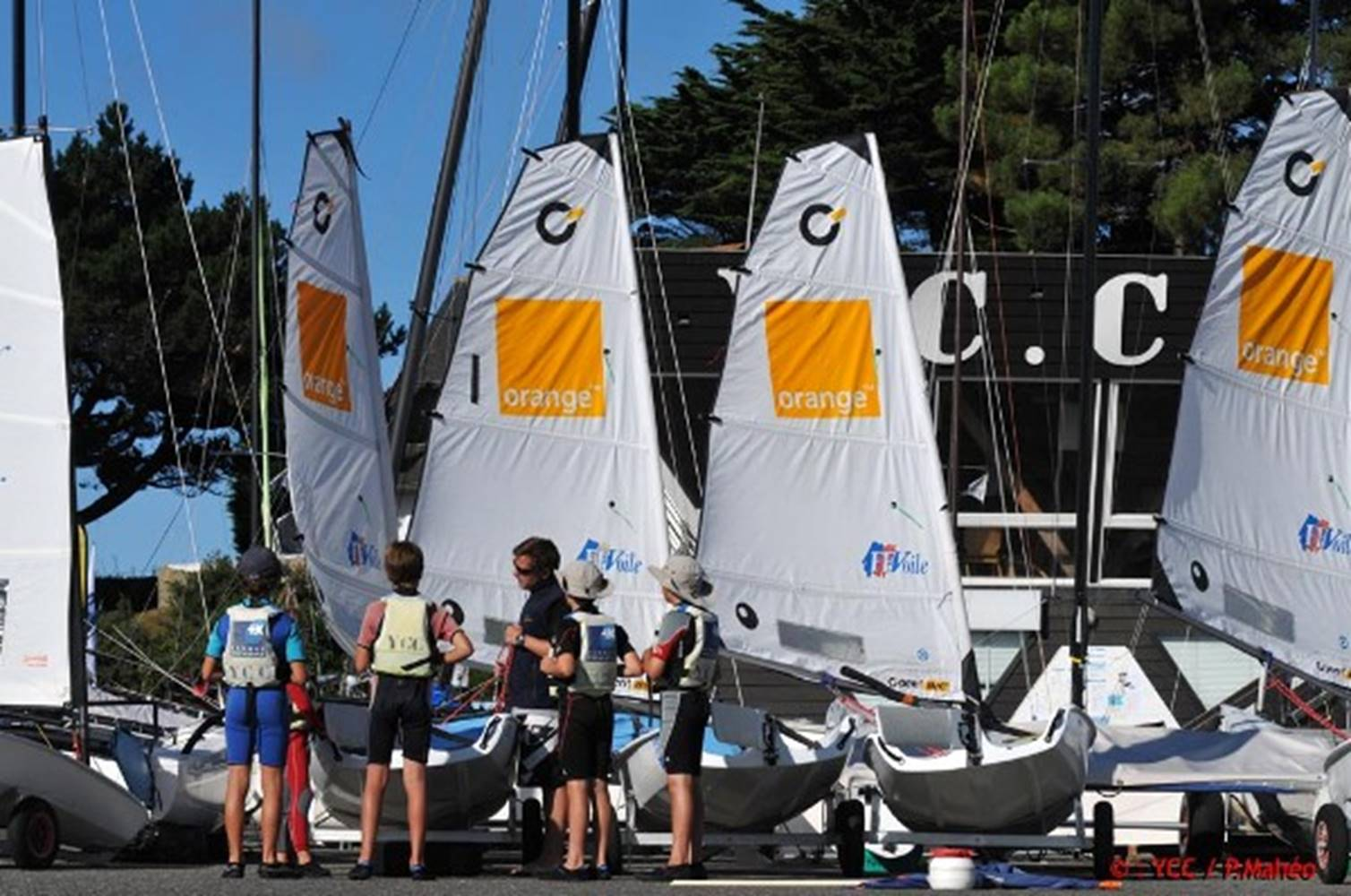 yacht-club-carnac-morbihan-bretagne-sud © YCC