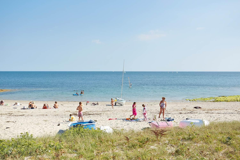 plage du Beg Lann - Sarzeau - Presqu'île de Rhuys - Golfe du Morbihan © Alexandre Lamoureux