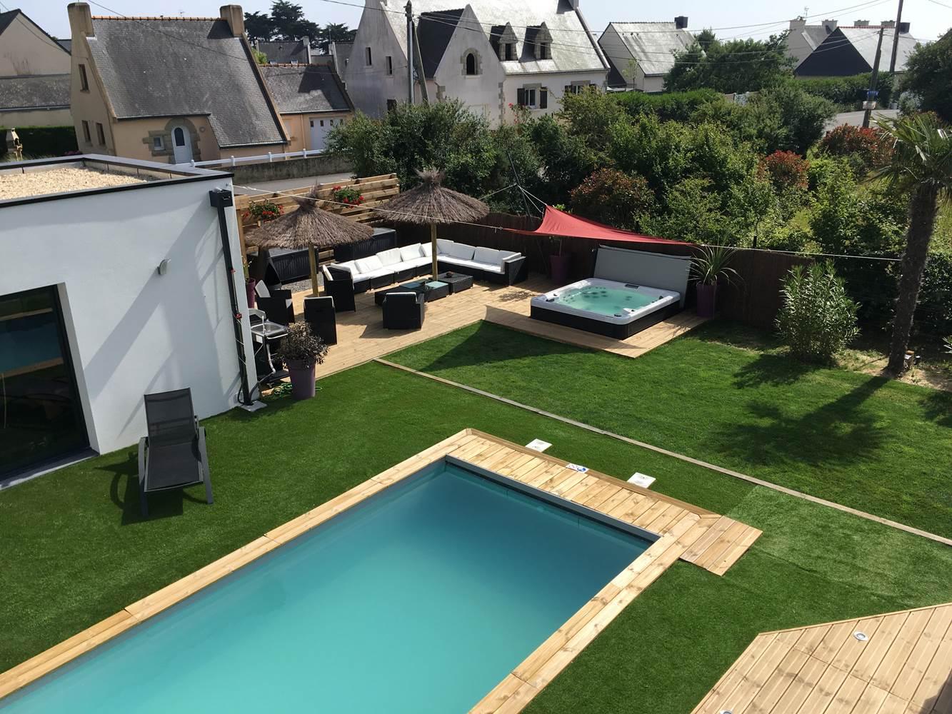 villa charles & ashton terrasse jacuzzi ©