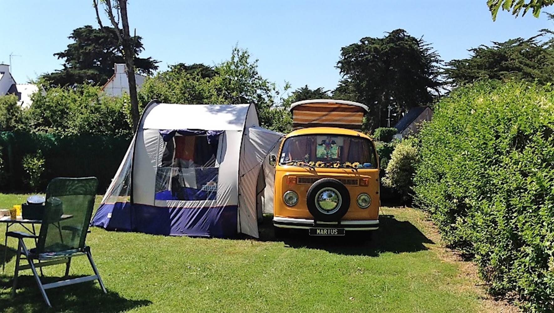 Camping-Le-Goh-Velin-Saint-Gildas-de-Rhuys-Presqu'île-de-Rhuys-Golfe-du-Morbihan-Bretagne sud © Camping Le Goh Velin