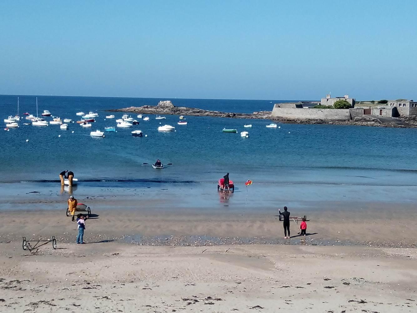 camping bord de mer à lorient en bretagne ©