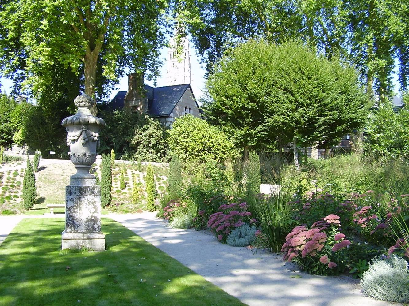 parc du château de Josselin © château de Josselin