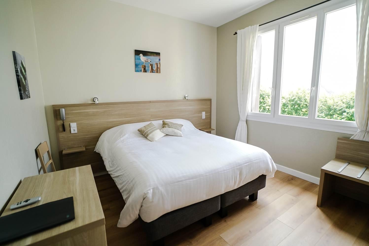 Hotel de la Citadelle - Bretagne sud - Lorient - Port Louis - Chambre Confort 2 ©