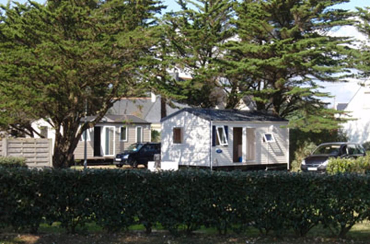 Location-Mobil-Home-Camping-La-Grée-Penvins-Sarzeau-Presqu'île-de-Rhuys-Golfe-du-Morbihan-Bretagne sud © Camping La Grée Penvins