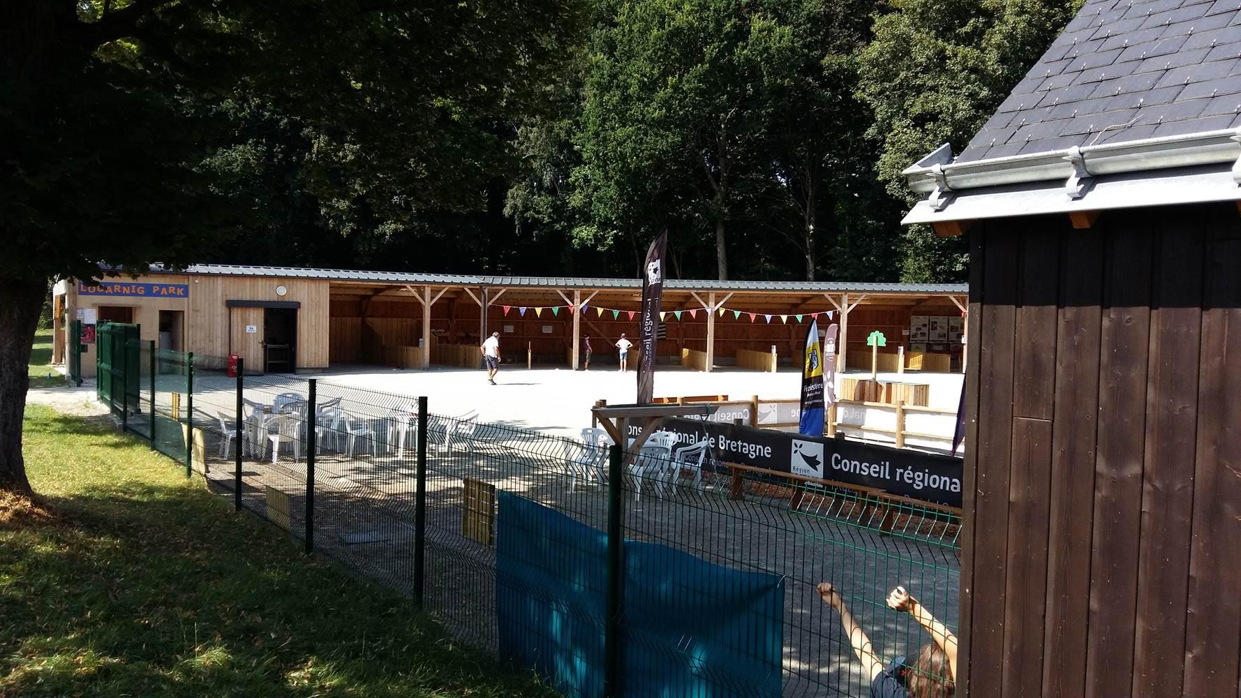 Louarnig Park, Intérieur du parc ©