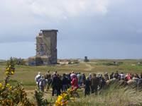Visite guid�e du Mur de l'Atlantique du B�go � Plouharnel