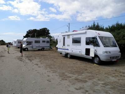 Aire camping-car du Loguy