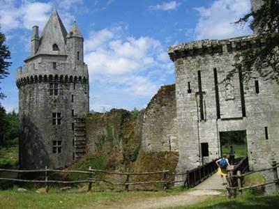 Forteresse de Largoët - les tours d'Elven