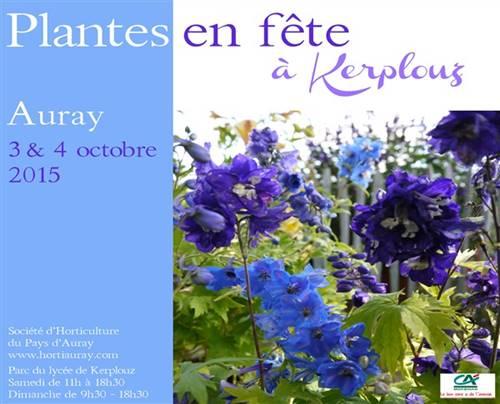 27ème édition des Plantes en fête de Kerplouz