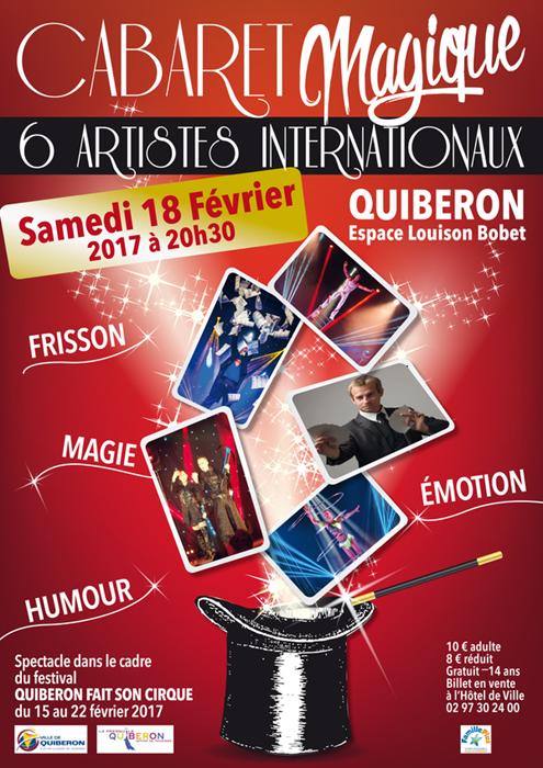 Cabaret magique à Quiberon