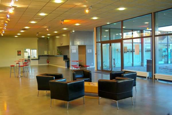 Centre culturel l'Asphod�le salon