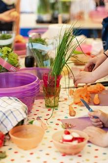 Atelier cuisine - Accueil St Joseph