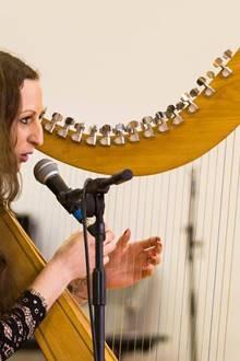 Concert Chant et Harpe Celtique par Dana (The Voice)