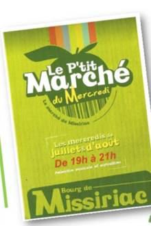 Le P'tit Marché Concert du Mercredi : Harisson Swing