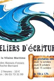 Ateliers d'écriture - Musée de la Vilaine Maritime