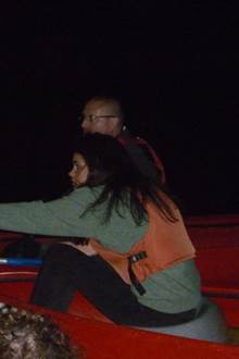 Nuits de la chauve-souris en canoë