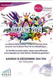 Tournoi Just Dance sur PS4