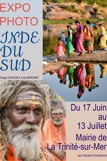 Exposition de photographies sur le thème « Inde du sud »