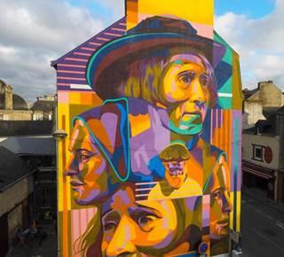 Découvrir Vannes par le Street Art