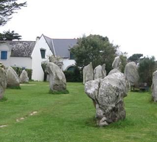 Mégalithes de Kerbourgnec