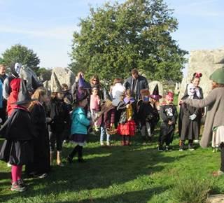 Les Menhirs d'Halloween : Balade contée 5-10 ans