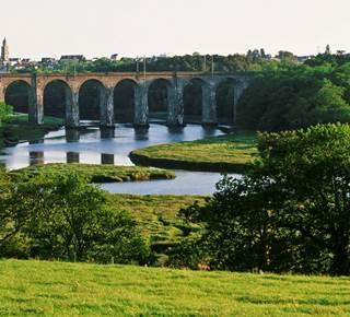 La vallée de Tréauray et la rivière du Loc'h