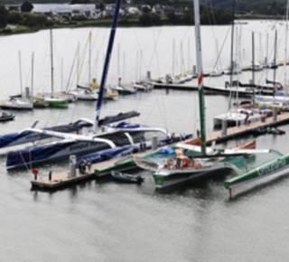 Port de plaisance Lorient - Base de sous-marins
