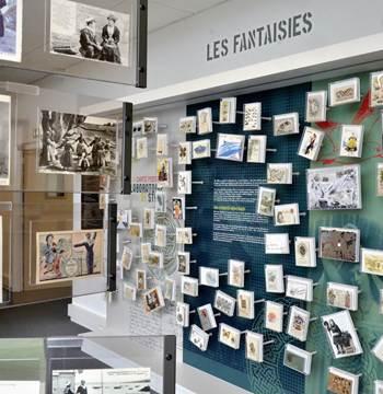 Baud-Carton voyaguer-Carte postale