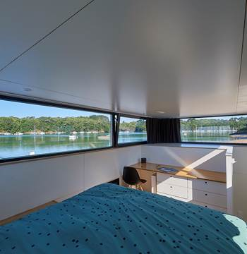 Cabine parentale - Lodge Boat Guidel