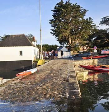 kayak- maison cale le passage saint-armel