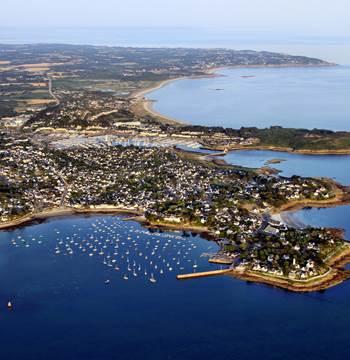 vue golfe océan depuis port navallo