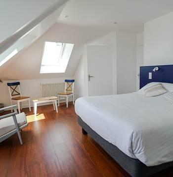 Hotel de la Citadelle - Bretagne sud - Lorient - Port Louis - Chambre Grand Confort Vue Mer 5