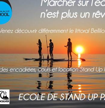 Ecole de stand up paddle board