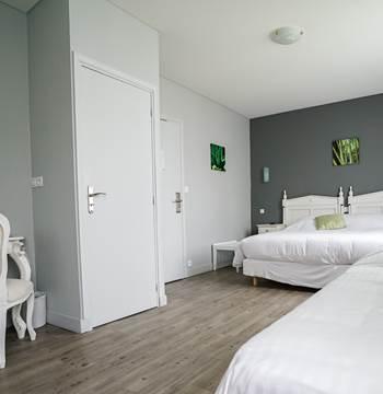 Hotel de la Citadelle - Bretagne sud - Lorient - Port Louis - Chambre Confort Triple 2
