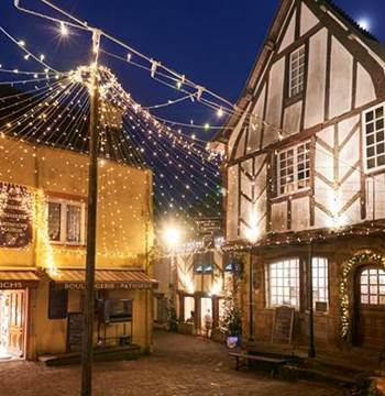 Illuminations de Noel à Rochefort-en-Terre
