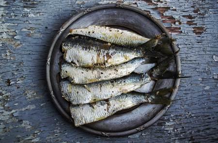 Repas sardines grillées