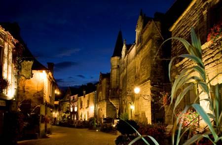 Ambiance de Noël à Rochefort-en-Terre