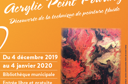 Exposition « Acrylic peint pouring »