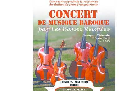 Concert Les Basses réunies
