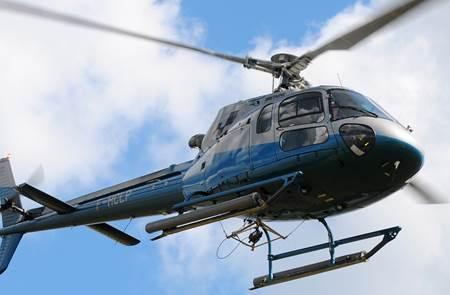 Helibreizh, vol en hélicoptère