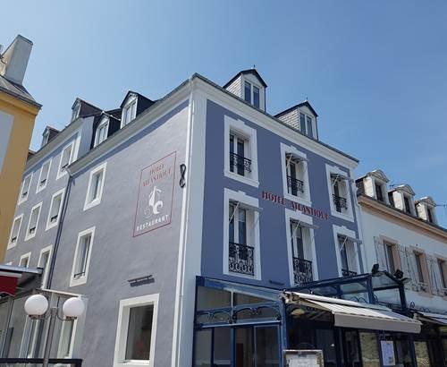 Hôtel Atlantique_Façade et restaurant ©